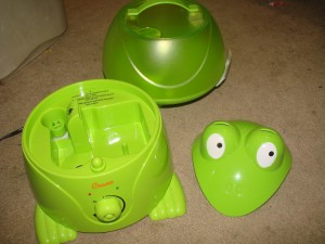 Crane Frog Humidifier Review Emily Reviews