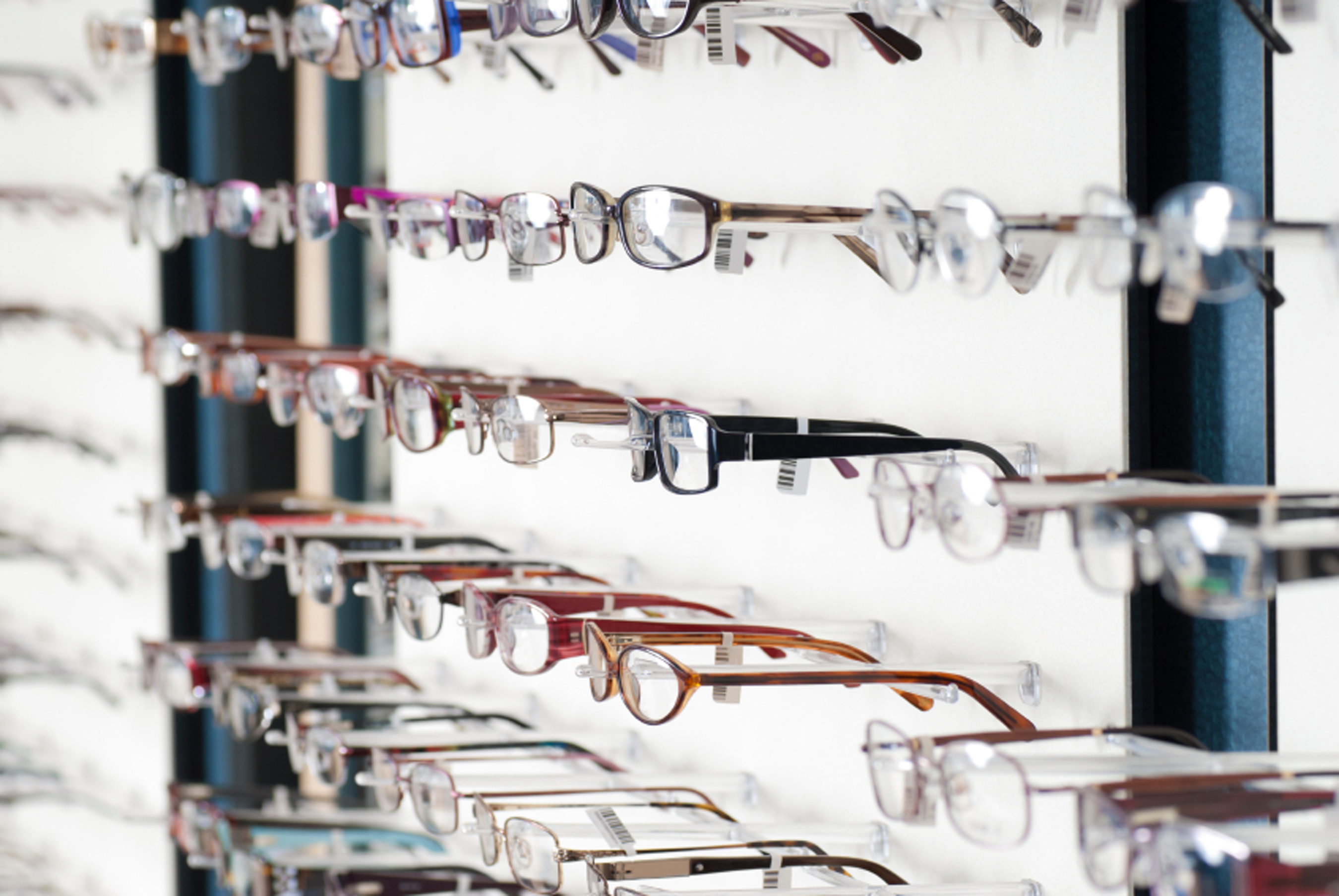 Wall of Glasses VisionWeb