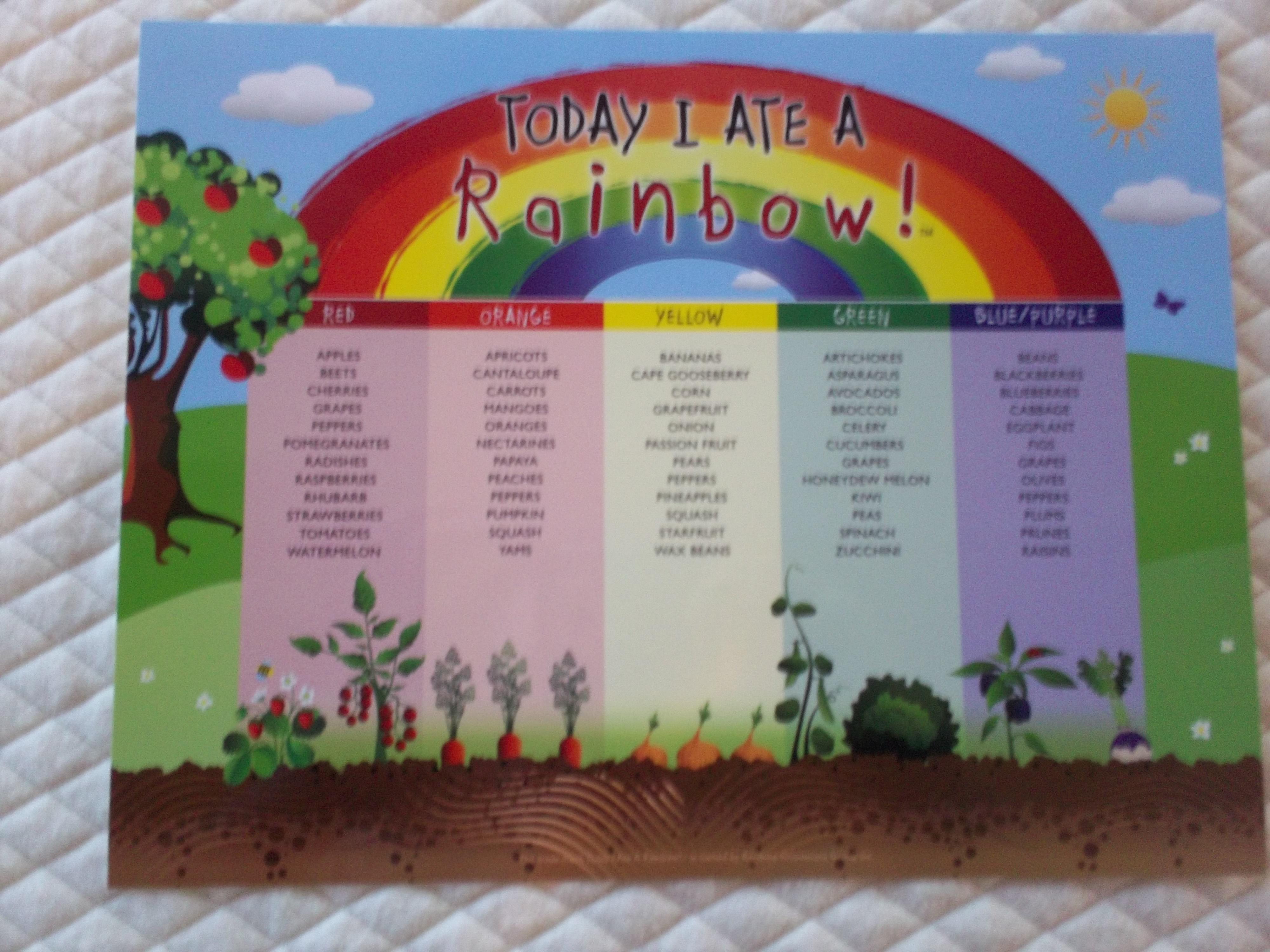 Today i ate a rainbow emily reviews today i ate a rainbow chart review and giveaway us 0228 nvjuhfo Images