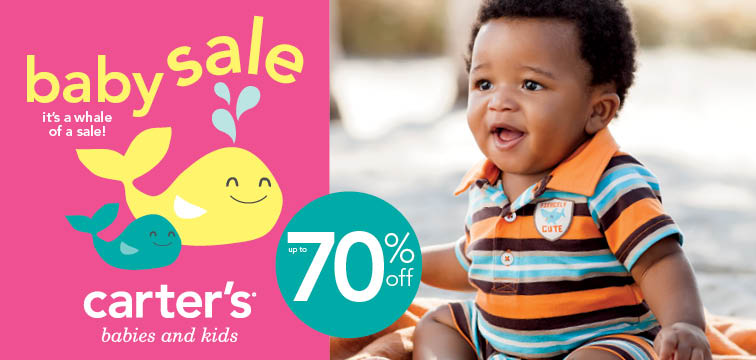 Carter's Baby Clothing Sale & $50 Gift Card Giveaway (6/6) | Emily ...
