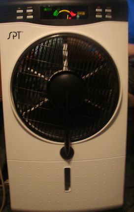 SPT Indoor Misting Fan Review | Emily Reviews