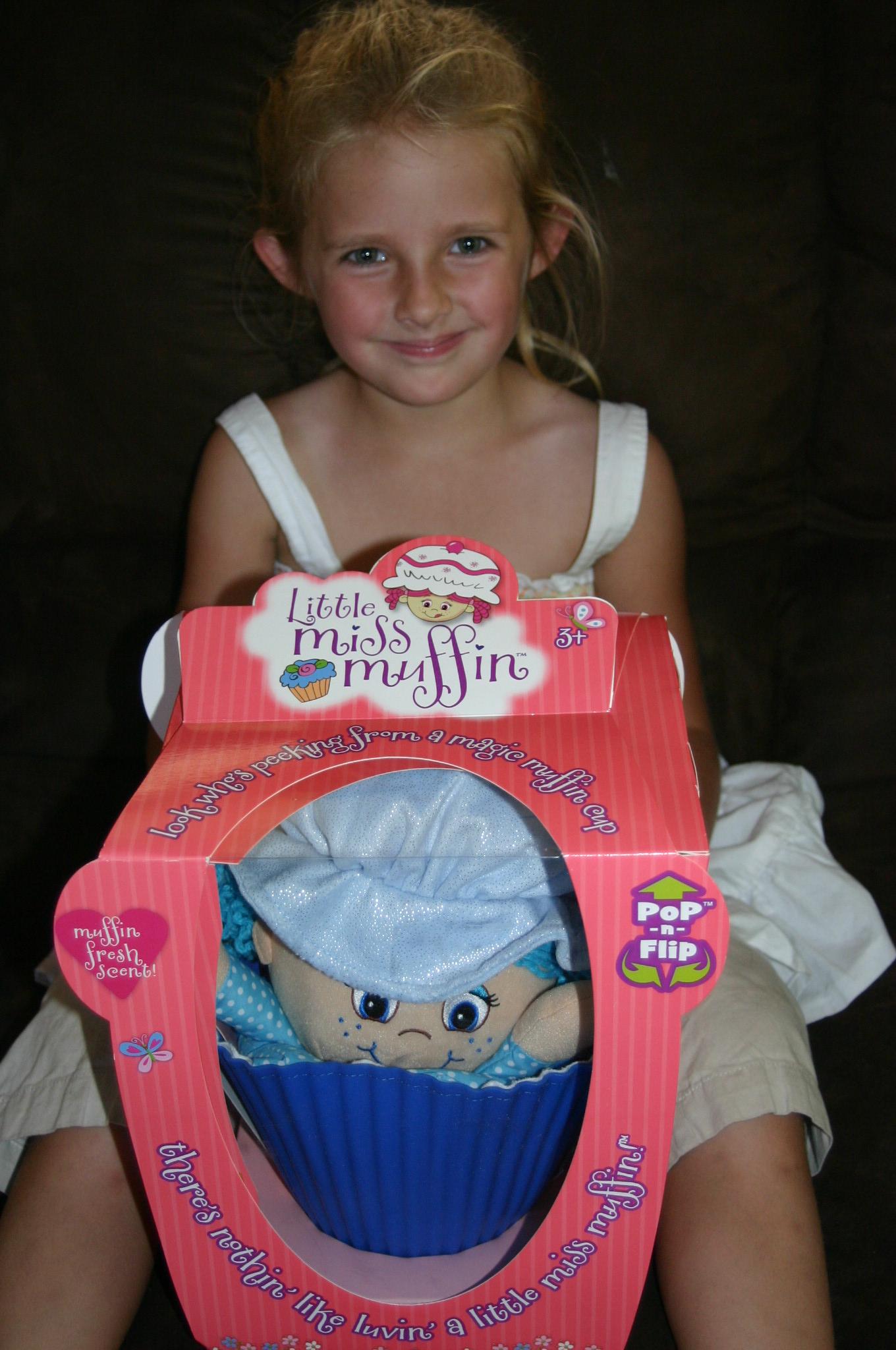 Little Miss Muffett Pretty Cute Doll Clothes Pattern 18: Little Miss Muffin