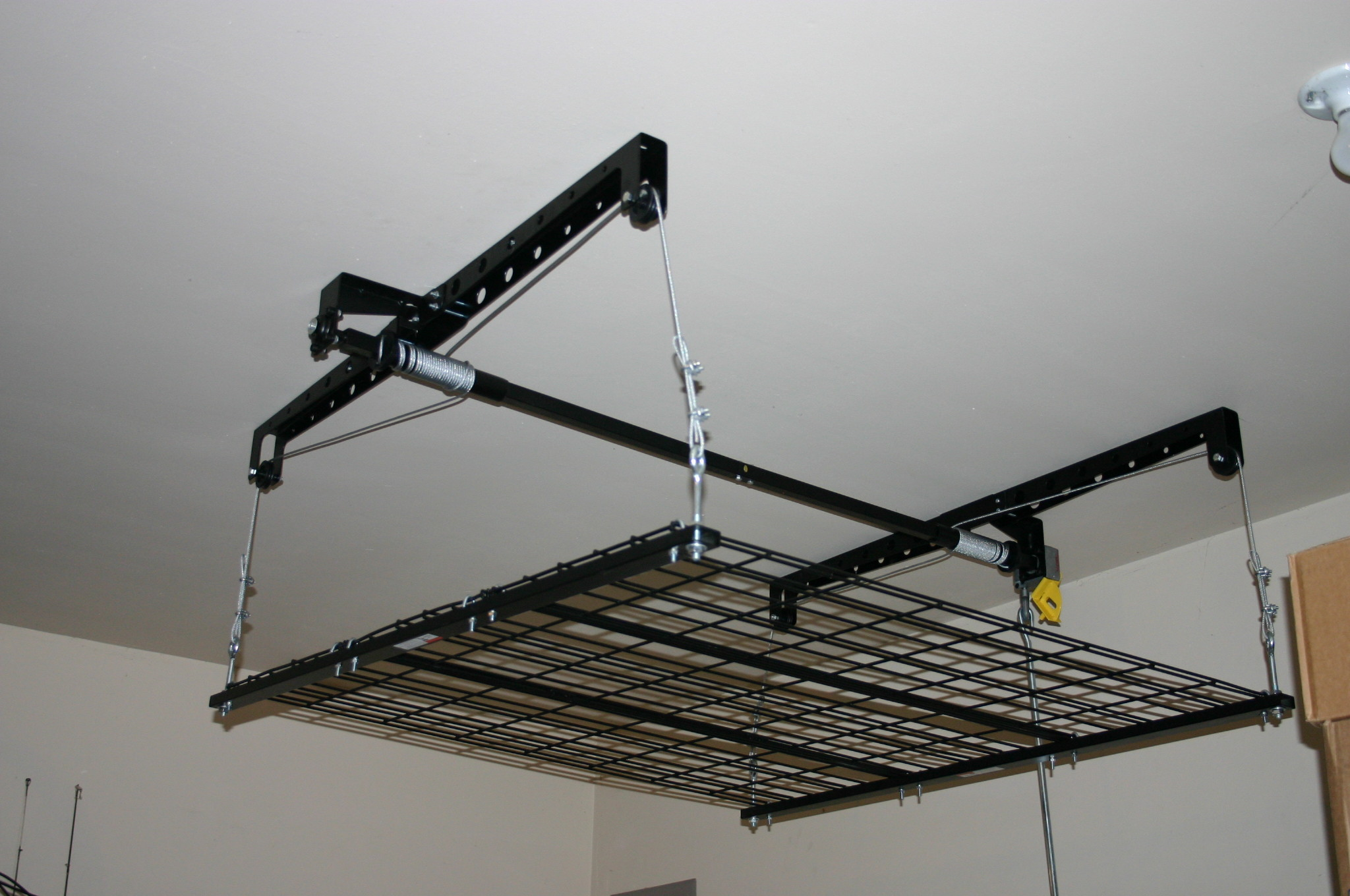 garage attic lift system with Racor Storage Solutions Review Giveaway Us 1110 on 4812201334 moreover Garage Ceiling Storage Loft further Garage Trailer Lift likewise Racor Storage Solutions Review Giveaway Us 1110 moreover Fakro Attic Ladder Installation Slideshows.