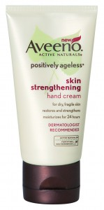 Aveeno positively ageless skin strengthening hand cream