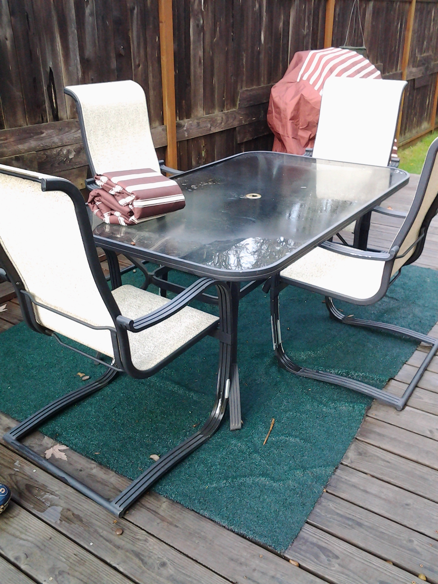 I Contacted Empire Covers To See If They Had A Furniture Cover That Would Help Me Extend The Life Of Our Patio Table And Chairs