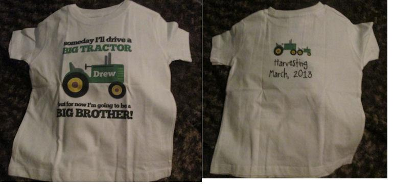 zoey's attic tractor shirt