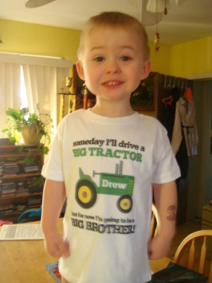 zoey's personalized gifts tractor shirt