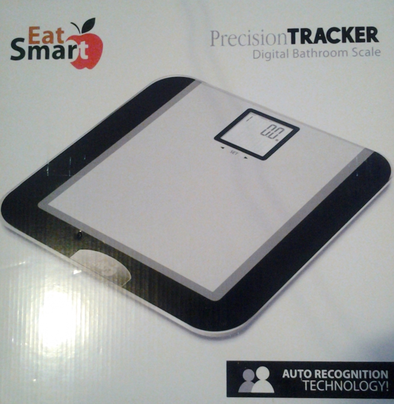 The Precision Tracker Digital Bathroom Scale Helps Users Track Their Weight  Over A Period Of Time. Each Time You Step On The Scale, It Shows You Your  ...