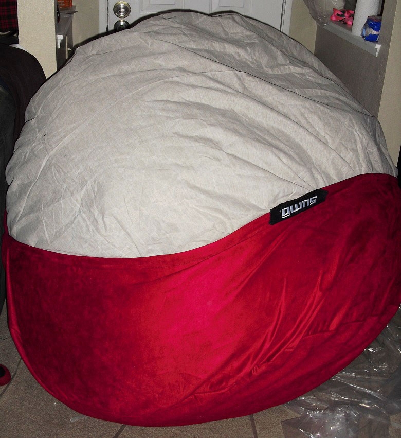 Pleasing Sumo Lounge Sumo Sultan Bean Bag Chair Review Emily Reviews Bralicious Painted Fabric Chair Ideas Braliciousco