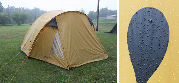 eureka rain & Eureka! Tundern Cove 6 Tent and Pinery 500 Footprint Review ...