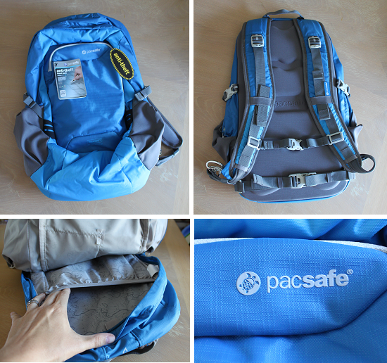 756861aa8 Pacsafe's Smart Travel Gear: Venturesafe 25L GII Anti-Theft Travel ...