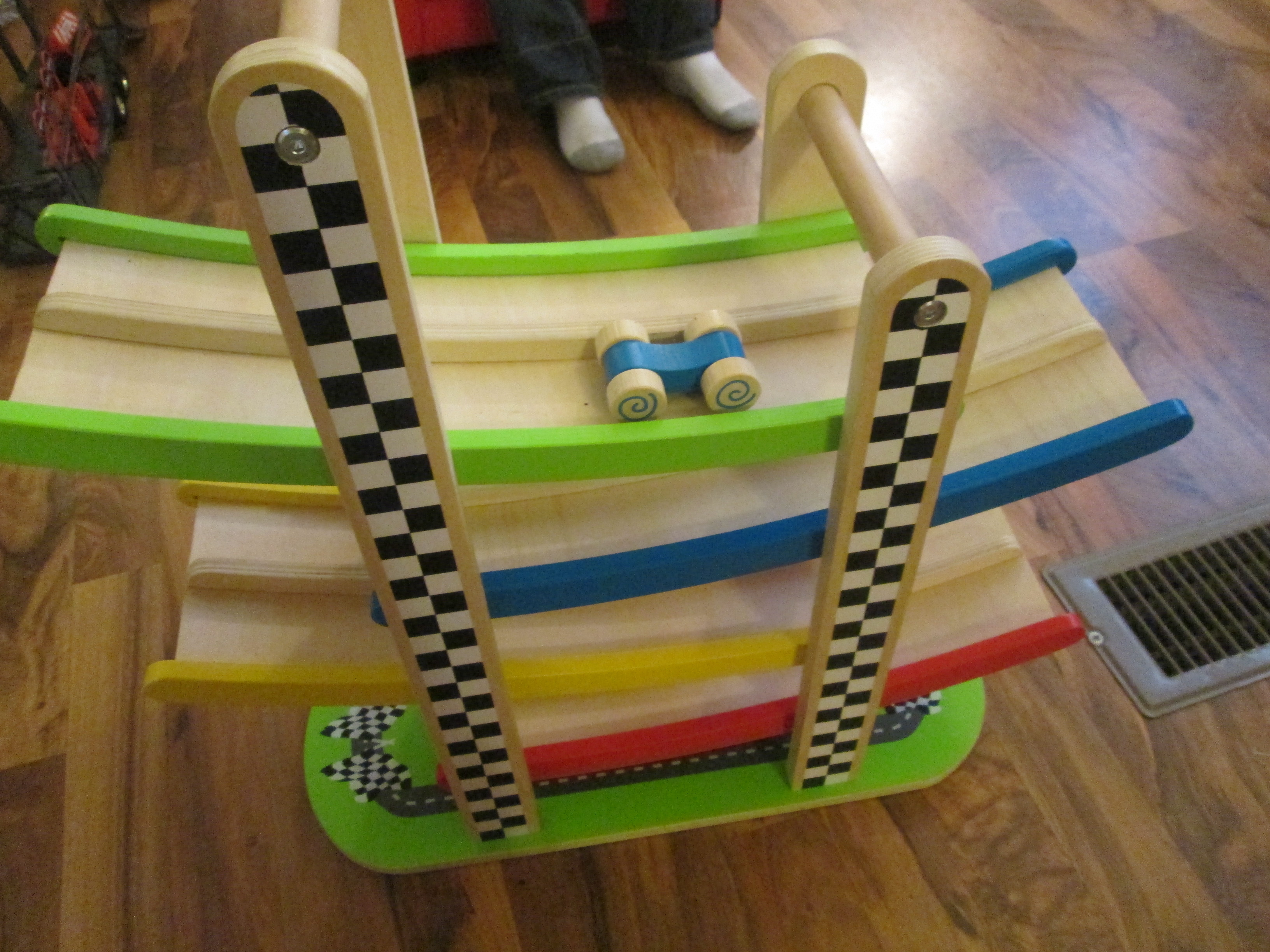 Wooden Car Track