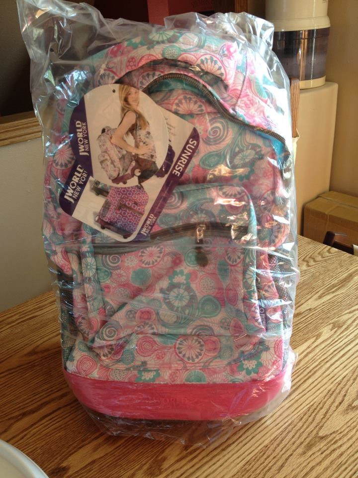 03de0e11fa J 17 J 16. I was sent a J World New York RBS-18 Sunrise backpack in Blue  Raspberry and a JWorld LB-03 Corey Lunch Bag in ...