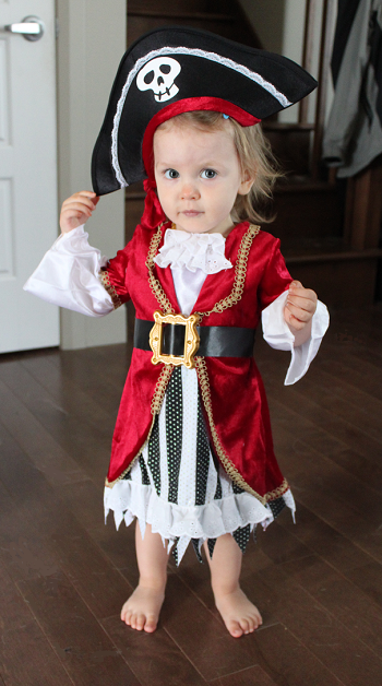 Diy Baby Girl Pirate Costume Adorable Hallow...