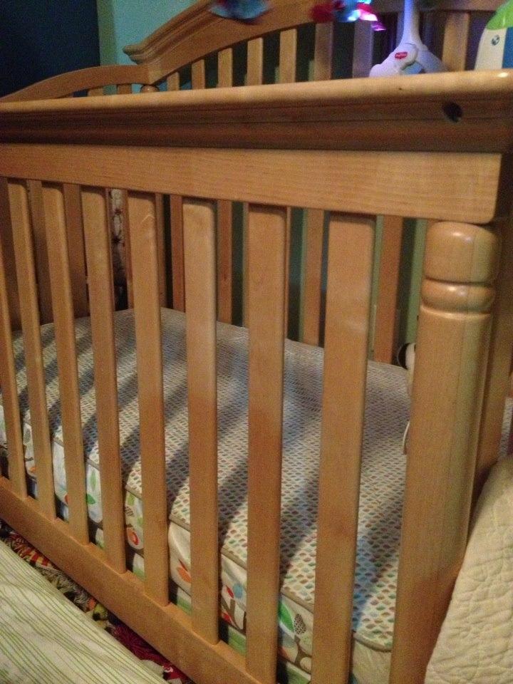 Naturepedic Lightweight Organic Cotton Ultra 2 Stage Crib