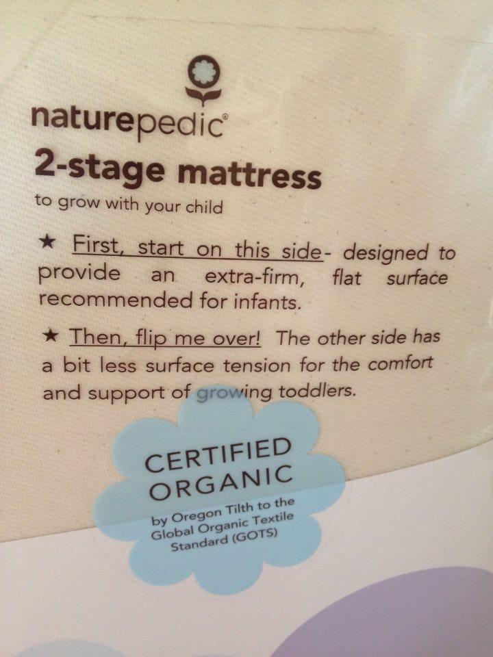Naturepedic Naturepedic Ultra Dual Firmness Organic Crib Mattress  Stage Crib/Toddler Mattress Review & Giveaway (US & Canada) 9/28