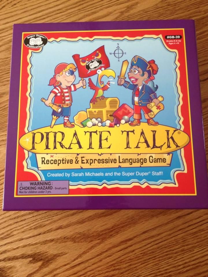 super duper publications pirate talk board game discount code