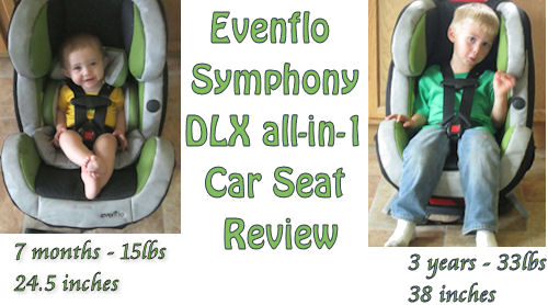 Evenflo Symphony DLX All-in-one Car Seat Review | Emily Reviews