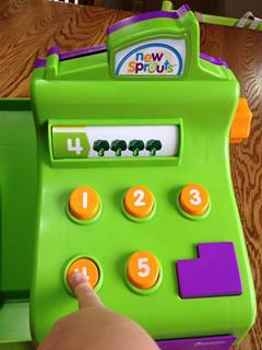 Learning Resources New Sprouts Ring It Up Cash Register