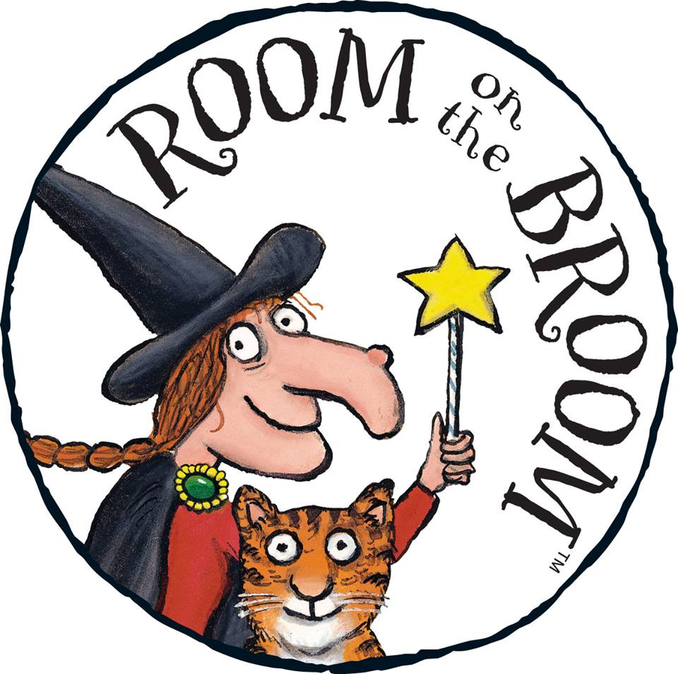 Room On The Broom Interactive App Board Book Witch