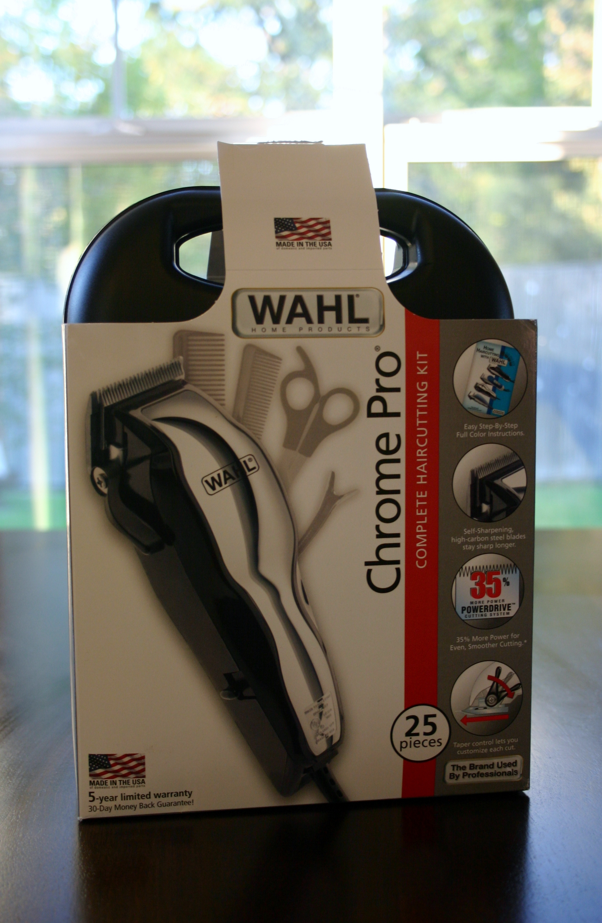 wahl chrome pro complete haircutting kit wahl chrome pro complete haircutting kit gift idea for 5119