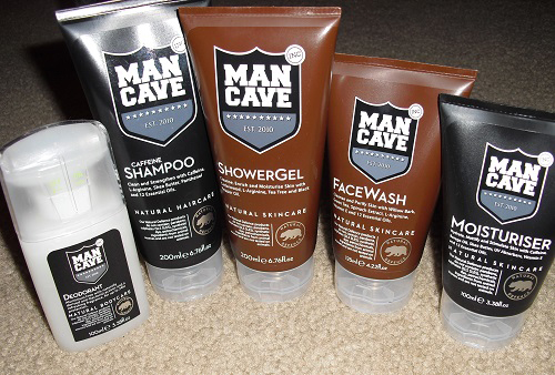Man Cave Review : Mancave men's natural grooming products review gift idea for men