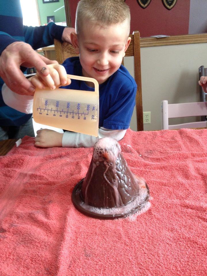 volcano making kit instructions