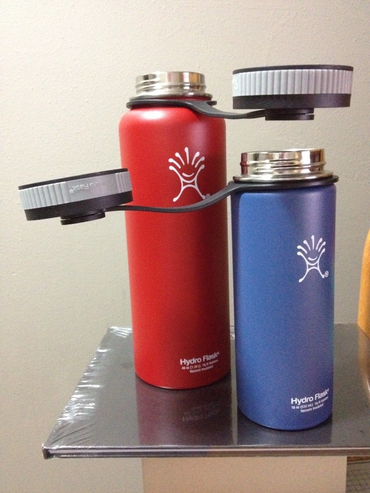 Hydro Flask 40 Ounce & 18 Ounce Insulated Water Bottles ...