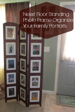 nexxt floor standing photo frame