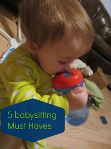 5 babysitting must haves