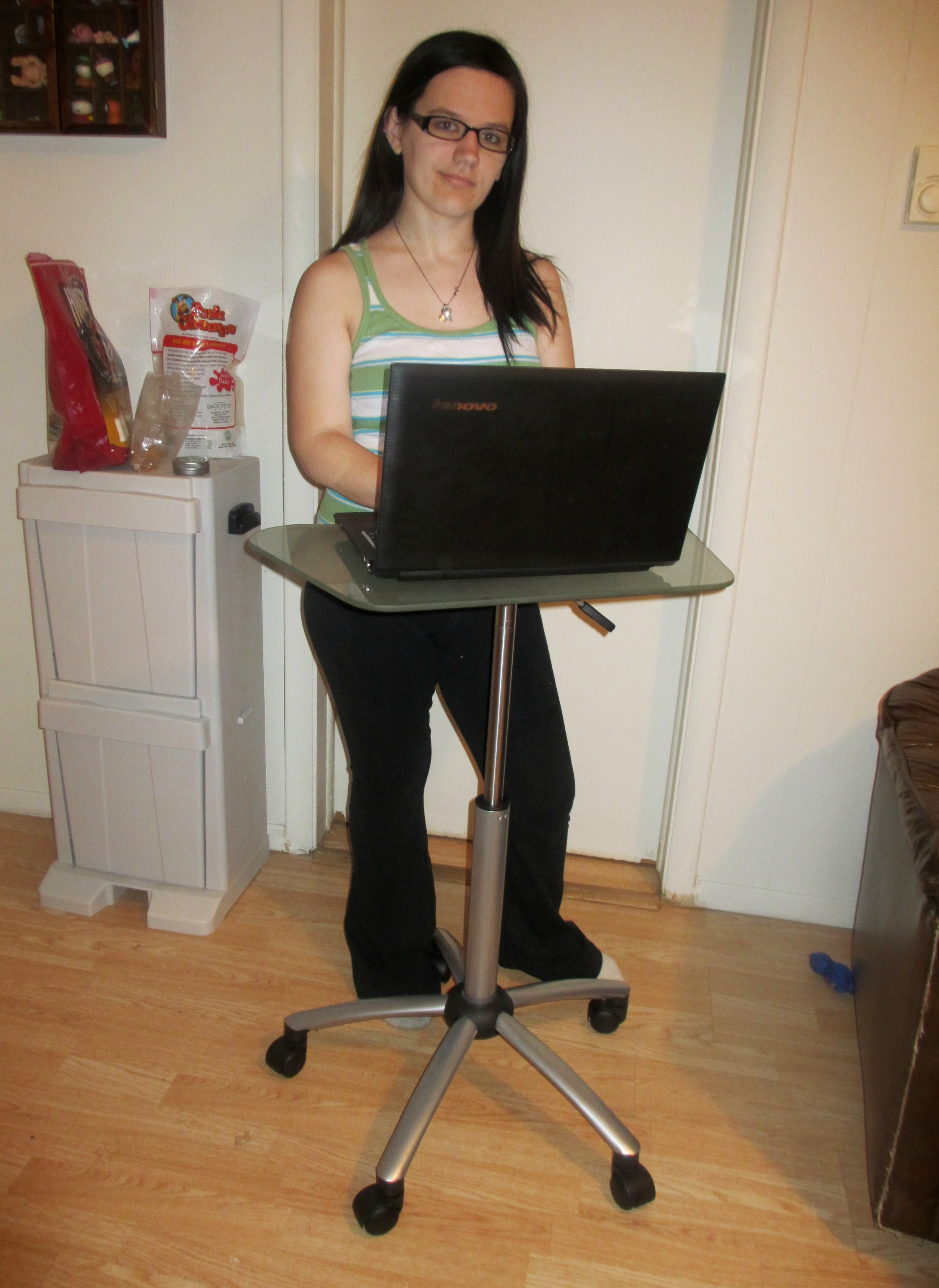 Studio Designs Vision Mobile Cart A Laptop Stand More Emily