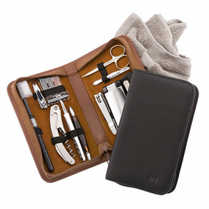 nappa leather grooming kit