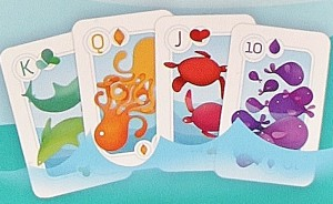 Water safe splash cards touring card game review for How do you play go fish card game