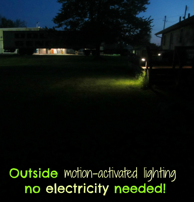 outside lighting no electricity