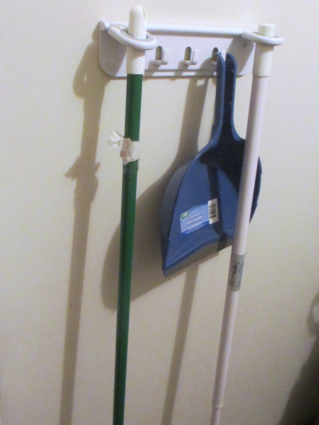 Charmant Mop And Broom Holder Organizer Mop And Broom Holder Organizer