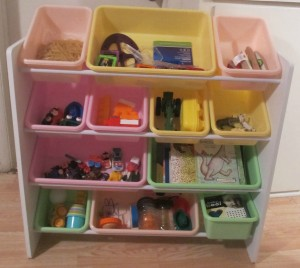 toy storage organization