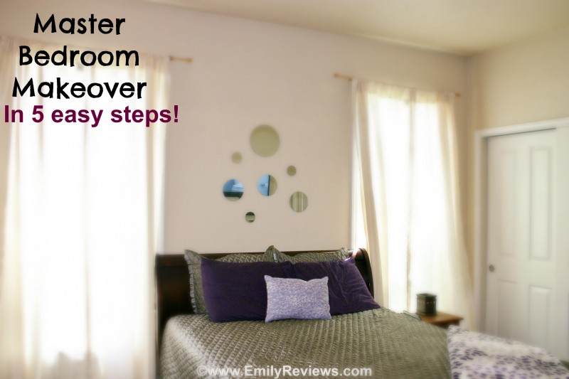 Diy master bedroom makeover in 5 easy steps emily reviews Diy master bedroom makeover