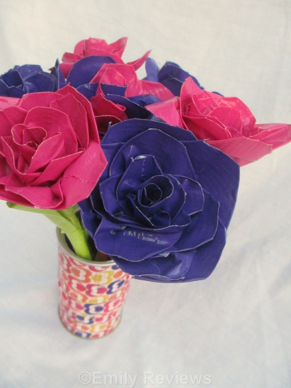 How To Make Duct Tape Flowers Beautiful Flower 2017