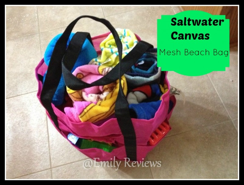 Saltwater Canvas Mesh Bags ~Hit The Beach Packed In Style~ Review ...