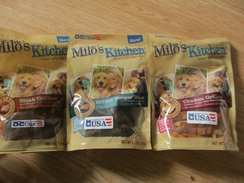 Milos Kitchen dog treats