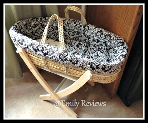 tadpoles moses basket stand preparing for baby event. Black Bedroom Furniture Sets. Home Design Ideas