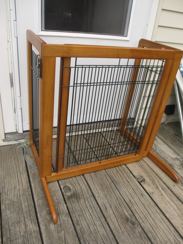 Richell Usa Freestanding Pet Gate Hs Review Emily Reviews