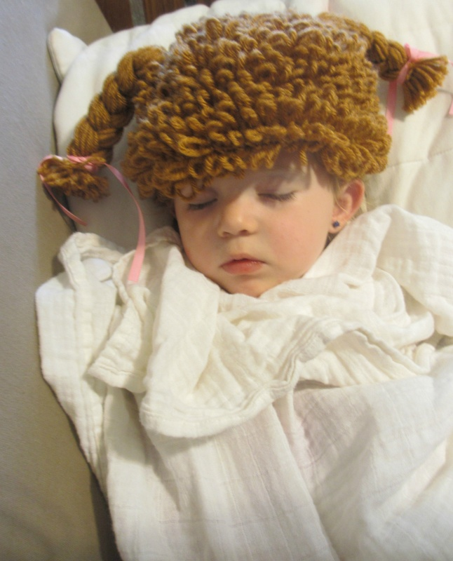 Crocheted Cabbage Patch Hat Wig From Crochetedbycatherine Review