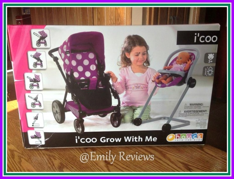 I Coo Quot Grow With Me Quot Doll Stroller Amp High Chair Set Review