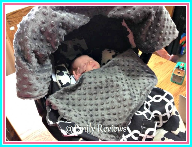 Blue Baby Bum ~ Car Seat Cover, Car Seat Blankie, & Stroller Blankie ...