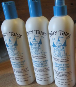 Fairy Tales Tangle Tamers Haircare Line