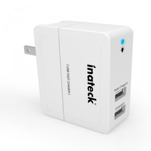 inateck dual USB port wall charger