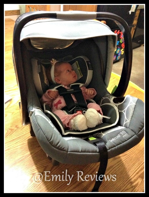 The Ingenuity Baby InTrust 35 Pro Car Seat Is A Solid Slightly Heavy Although All Seats Feel To Me About 15 Pound