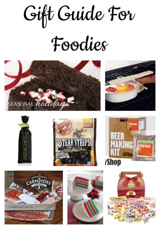 Christmas gift guide for foodies - gift ideas for cooks, home chefs + food lovers