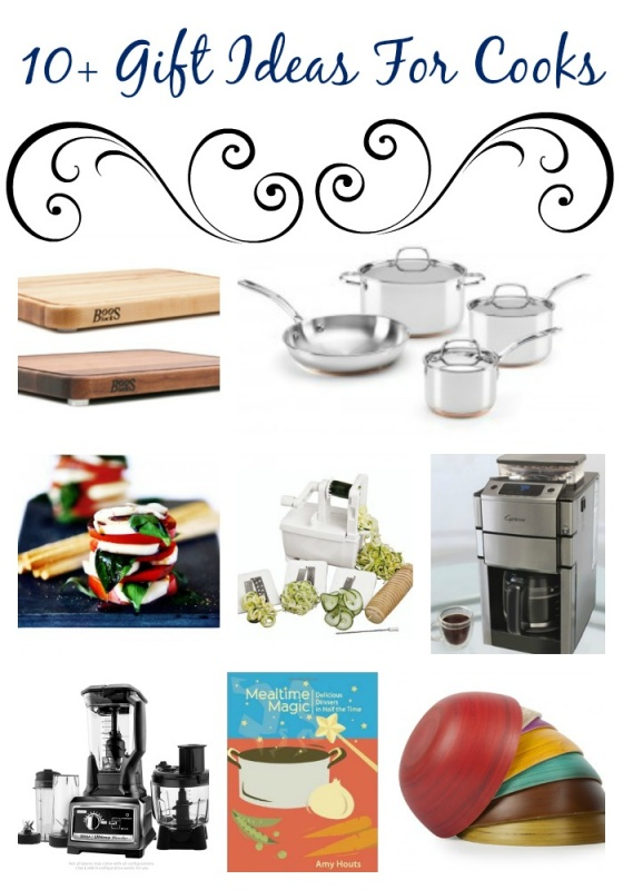 Gift ideas for the kitchen, cooks, chefs, hostesses, etc.